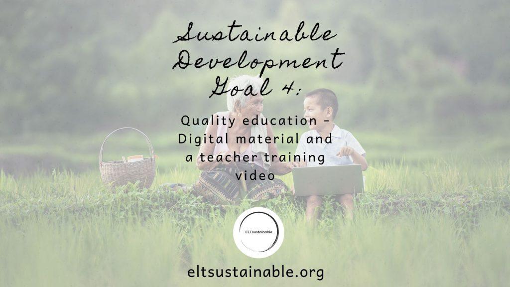 Goal 4: Quality Education