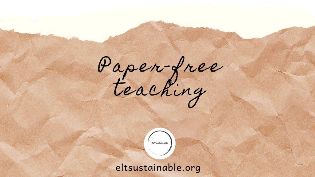 Paper-free Teaching